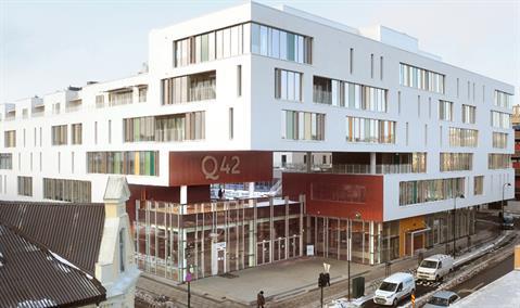 Q42 on tullut Kristiansandin kaupungin itäisen osan maamerkki