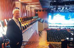 Billy Øksendal in concert hall A