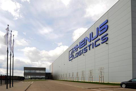 Rhenus Logistics new premises comprise a single-storey hall and warehouse facility as well as a two-storey office building.