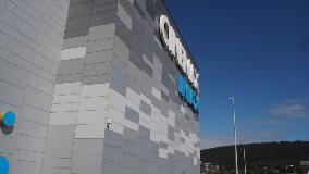 Na fasádu přístavby byl použit stejný produkt, Ruukki Forma. Navzdory několikaletému rozdílu mezi dvěma částmi budovy nejsou žádné rozdíly v barevném odstínu.