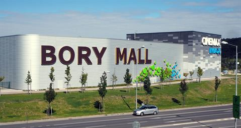 After the more than 5,000 square metre extension, Bory Mall has a total surface area approaching 60,000 square metres.