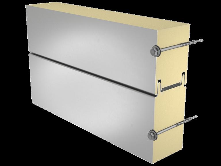 Sandwich panel SP2B X-PIR för ytter- och innerväggar och innertak image