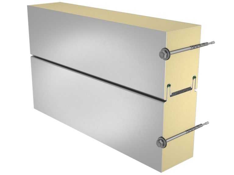 Sandwich panel SP2B X-PIRS Energy image