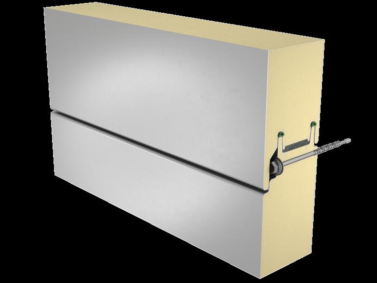 Sandwich panel SP2D X-PIR energy image