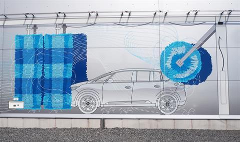 Myjnia samochodowa Bilia