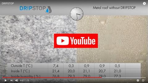 YoutubeVideo-Dripstop-anticondensation