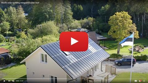 roofit.solar integreeritud päikesekatus youtube