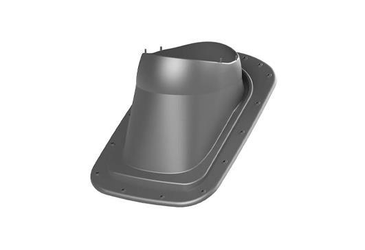 Podstawa kominka wentylacyjnego / sanitarnego do blach na rąbek stojący image