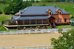 Monterrey, Czech Republic, restaurant and horse stables