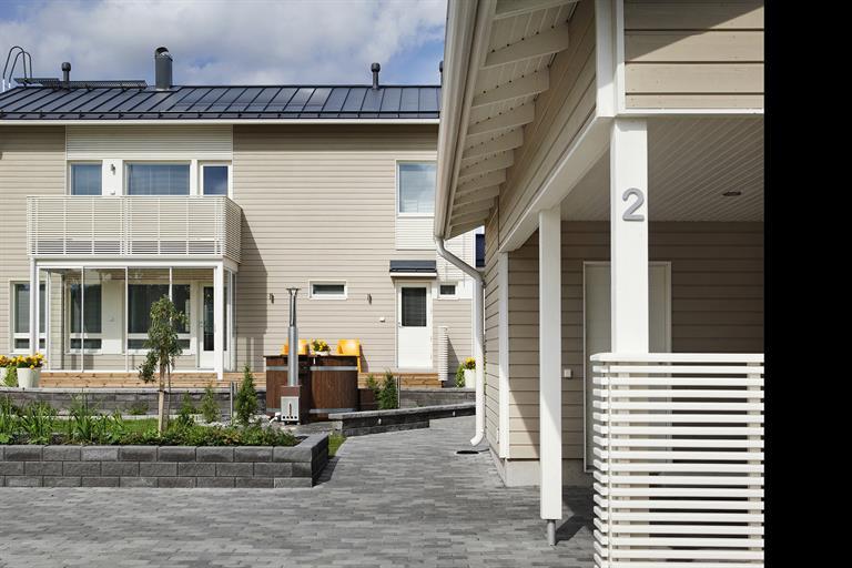 Ruukki Classic® solar thermal roof image